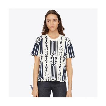 토리버치 포켓 티셔츠 $198 → $99