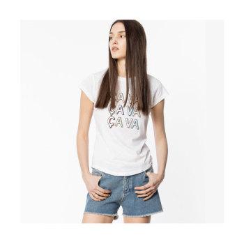 (바람이 분다 김하늘 착용) 쟈딕 앤 볼테르 스키니 싸바 티셔츠 $98 → $29.4