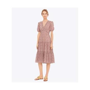 (김하늘 착용) 토리버치 프린트 실크 드레스 $598 → $169