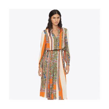 (소이현 착용) 토리버치 와일드 스트라이프 프린트 드레스 $598 → $199