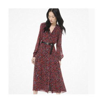 (도연 착용) 마이클 마이클 코어스 플로럴 프린트 셔츠 드레스 $175