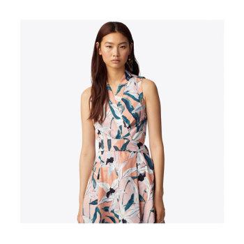토리버치 프린트 랩 드레스 $498 → $199