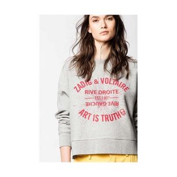 (제시카 착용) 쟈딕 앤 볼테르 HANY STRASS 스웨트셔츠 $228→ $159.6