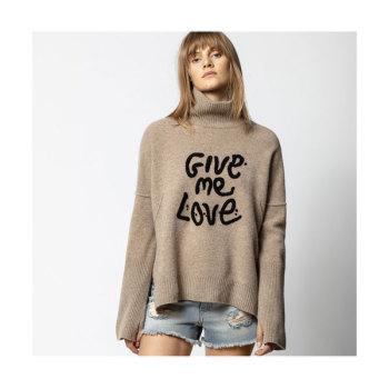 (제시카 착용) 쟈딕 앤 볼테르 ALMA 터틀넥 스웨터 $348→ $243.6