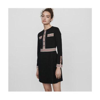 (우아한 가 임수향 착용) 마쥬 ROULI 콘트라스트 스트라이프 드레스 250유로