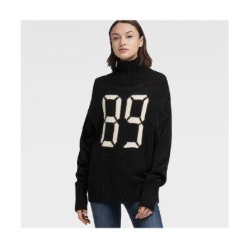 (성유리 착용) DKNY 89 프린트 터틀넥 스웨터 $109→ $76.3