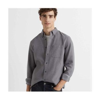 (날 녹여주오 지창욱 착용) 클럽 모나코 슬림 더블 페이스드 그리드 셔츠 $119.5