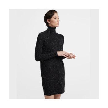 띠어리 캐시미어 터틀넥 스웨터 드레스 $435 → $195.75