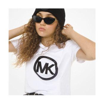 (기은세 착용) 마이클 마이클 코어스 시퀸 로고 티셔츠 $78 → $58.5