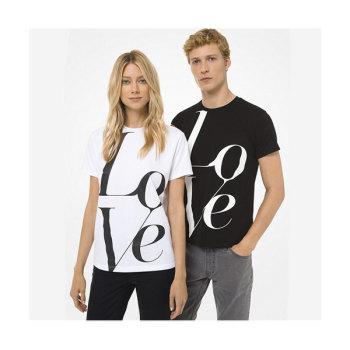 (기은세, 이사배 착용) 마이클 마이클 코어스 LOVE 레터링 티셔츠 $40