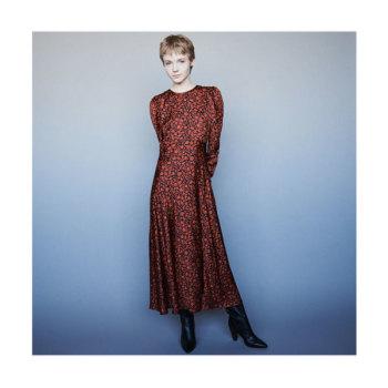 (호텔 델루나 아이유 착용) 마쥬 119RAVIE 새틴 맥시 드레스 $415 → $207.5