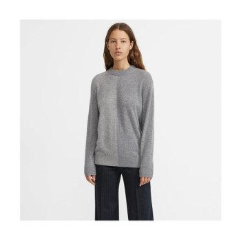 띠어리 컬러 블록 캐시미어 스웨터 $375 → $150