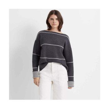 클럽 모나코 Esquinah 리버서블 캐시미어 스웨터 $349→ $167.99
