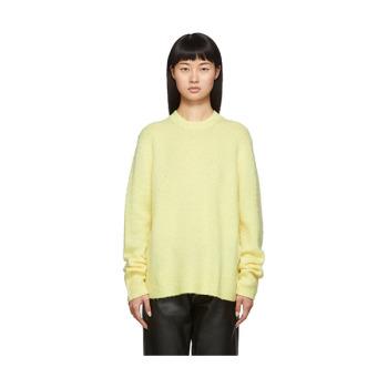 (안소희 착용) 아크네 스튜디오 옐로우 Peele 스웨터 $500 → $260