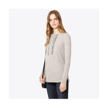 토리버치 에밀리 캐시미어 스웨터 $350 → $139.3
