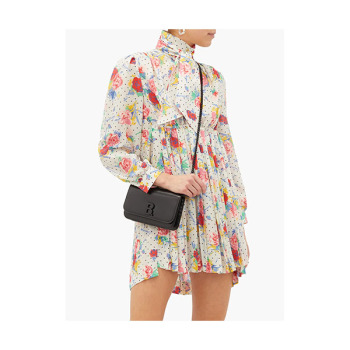 (제니 착용) 발렌시아가 하이넥 플로럴 드레스 $2,154 → $1,831.32