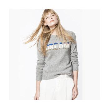 쟈딕 앤 볼테르 DELLY 캐시미어 스웨터 $428 → $128.4