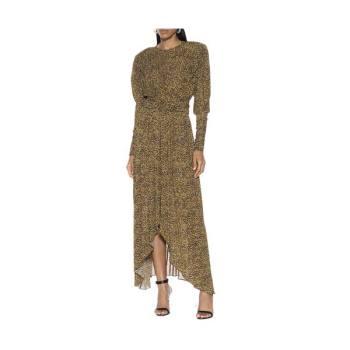 이자벨 마랑Jucienne 프린트 저지 드레스 1,035유로 →  496.8유로