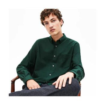 (골든 차일드 동현 착용) 라코스테 맨 레귤러 핏 울 블렌드 셔츠 $145 → $71.99