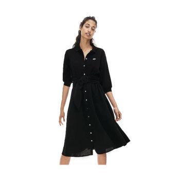 (최화정 착용) 라코스테 벨티드 피케 셔츠 드레스 $185 → $128.99