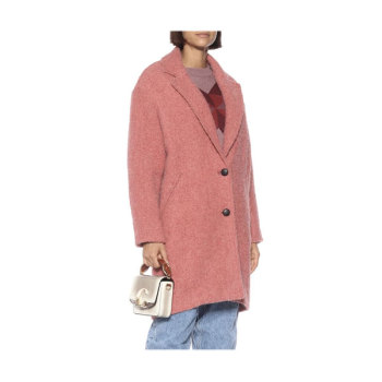 이자벨 마랑 에뚜왈 Dante 부클 코트 550유로 →  330유로