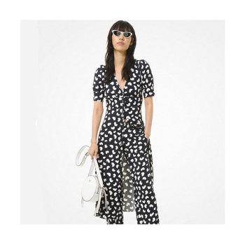 (조이 착용) 마이클 마이클 코어스 페탈 비스코스 드레스 $225 →$101.25