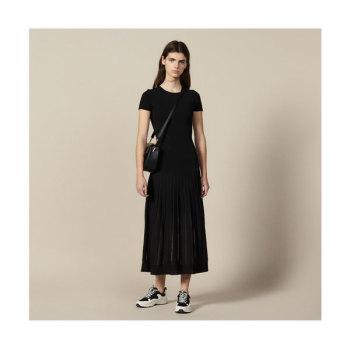 산드로 롱 니트 드레스 225유로 → 112.5유로