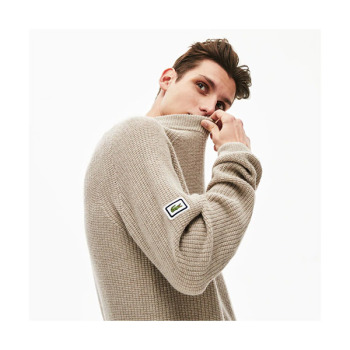 (NCT 도영 착용) 라코스테 맨 크루넥 알파카 스웨터 $230 → $114.99