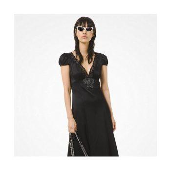 (조이, 고준희 착용) 마이클 마이클 코어스 비즈 리본 장식 드레스 $250