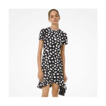 마이클 마이클 코어스 페탈 크레이프 러플 드레스 $225 →$101.25
