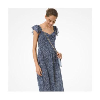 (조이 착용) 마이클 마이클 코어스 플러터 슬리브 드레스 $195 → $44.25