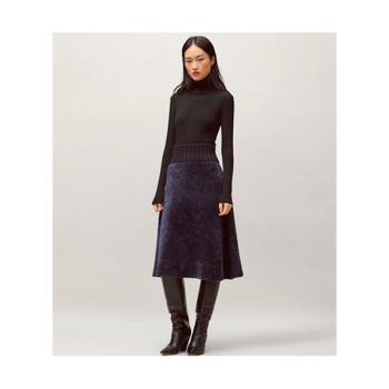 (김나영 착용) 토리버치 루렉스 스웨터 스커트 $398 → $199