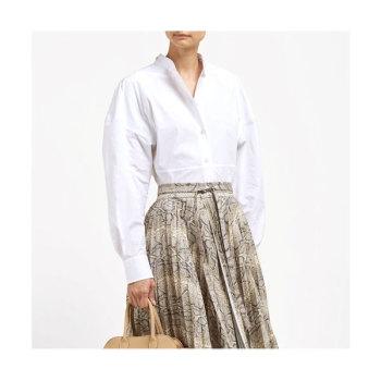 보테가 베네타 코튼 포플린 셔츠 $986 → $537
