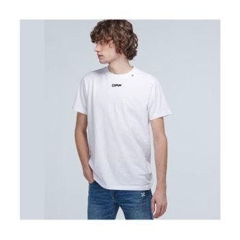 (찬열 착용) 오프화이트 Caravaggio 티셔츠 219유로