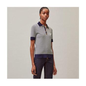 (강민경 착용) 토리버치 제미니 링크 셔츠 $298 → $223.5
