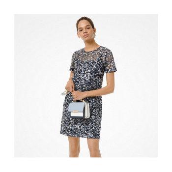 (조이 착용) 마이클 마이클 코어스 플로럴 시퀸 드레스 $250 → $112.5