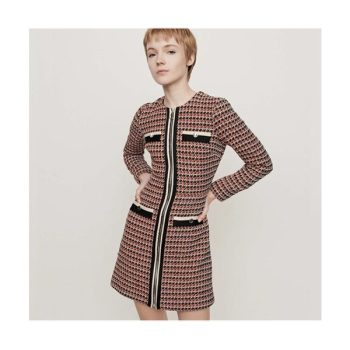 마쥬 119ROMANE 트위드 스타일 드레스 $490 → $183.75