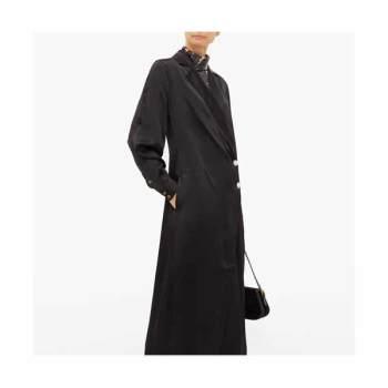 가니 사틴 랩 드레스 $381 → $121.6