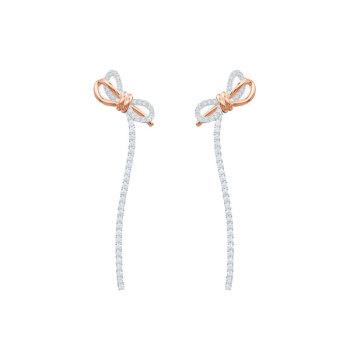 (박신혜, 선미 착용) 스와로브스키 LIFELONG BOW 귀걸이 $119 → $71.5