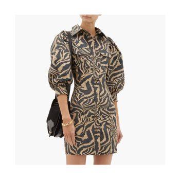 가니 퍼프 슬리브 드레스 $203 → $113.6