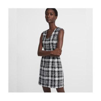 띠어리 러버 트위드 드레스 $465 → $195.3