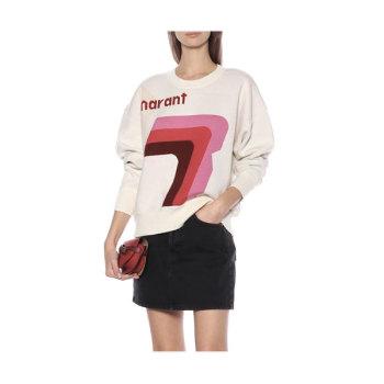 (김태희, 손나은 착용) 이자벨 마랑 에뚜왈 Klero 로고 스웨터 375유로 → 200.9유로