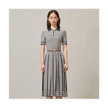 (부부의 세계 박선영 착용) 토리버치 제미니 링크 폴로 드레스 $498