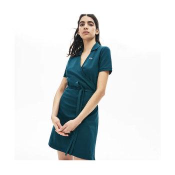 (김나영 착용) 라코스테 랩 피케 폴로 드레스 $145 →  $100.99