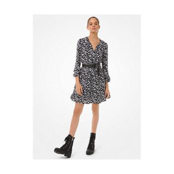 (이민정, 김소은 착용) 마이클 마이클 코어스 페탈 타이넥 드레스 $225 →$135