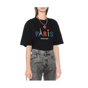 발렌시아가 우먼 Paris 반팔 티셔츠 370유로→ 259유로