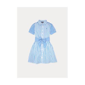 폴로 랄프로렌 걸 스트라이프 셔츠 드레스 $65 → $27.29
