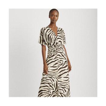 (차예련 착용) 폴로 랄프로렌 우먼 지브라 프린트 드레스 $155 → $80.49