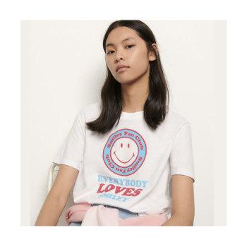 (동상이몽 김민정 착용) 스마일 티셔츠 $110 → $49.5