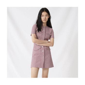 마쥬220RIDA 체크 미니 드레스 $415 → $186.75
